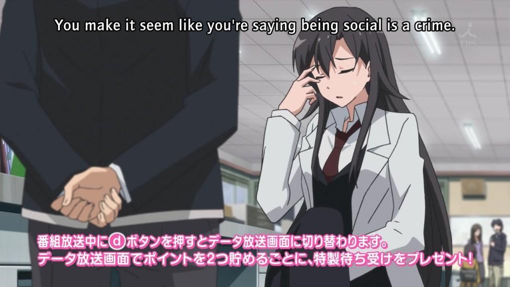 [WhyNot] Yahari Ore no Seishun Love Come wa Machigatteiru - 02v2 [23B24C77].mkv_snapshot_02.53_[2013.04.22_20.41.29]